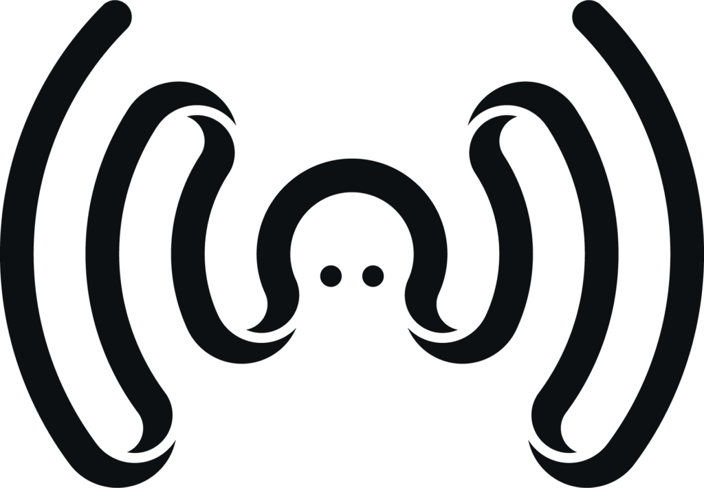 logo Plug and Pulse pieuvre wifi