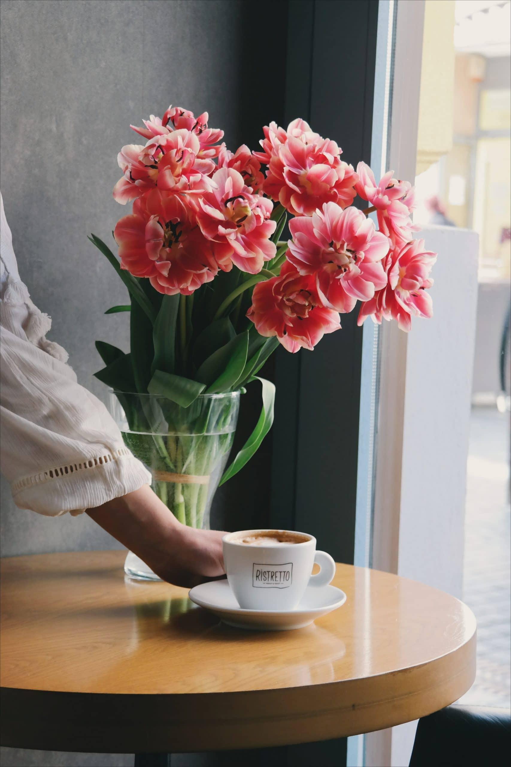 Plug and Pulse - Site fleuriste - bouquet rose