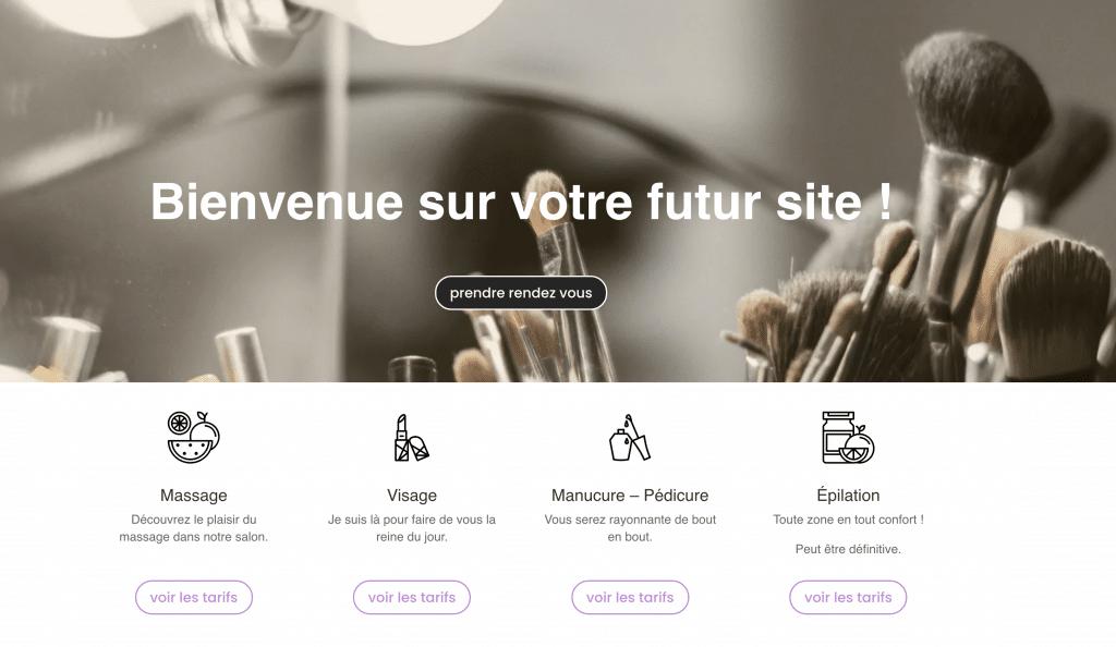 Plug and Pulse - Site sur abonnement esthéticienne - capture d'écran du qui sommes nous