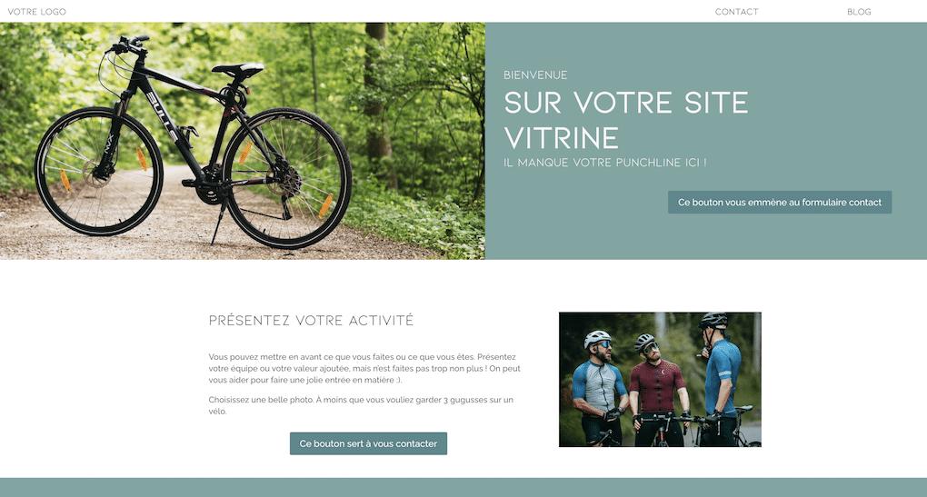 Plug and Pulse - Site web sur abonnement - Site vitrine - Capture d'écran du site vitrine